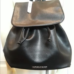 Victoria Secret faux leather backpack
